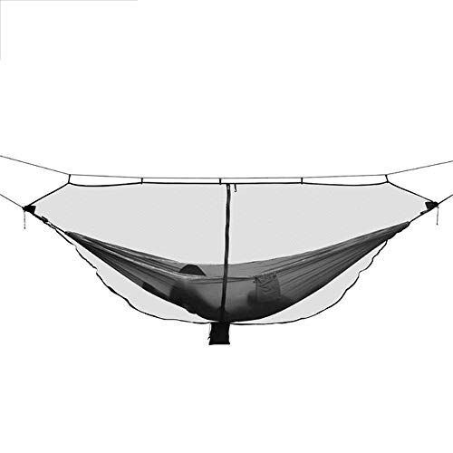 NOBRAND Outdoor Easy Setup Travel Portable Hammock Mosquito Net Fabric Nylon Camping Double Person Foldable Separating Mosquito Bed Net