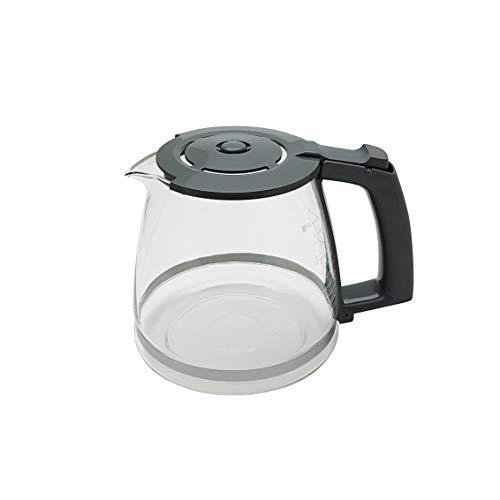 Ersatzkanne Glaskanne grau für Siemens Kaffeemaschine TC3A0103 - TC3A0107 -TC3A0303 - TC3A0307