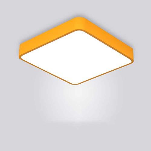 & Lamparas de techo LED de luz de techo ahuecada for los armarios, cocinas, escaleras, sótanos, dormitorios, lámparas de techo Aseo (Cool White 6500K) [Clase de eficiencia energética A ++]