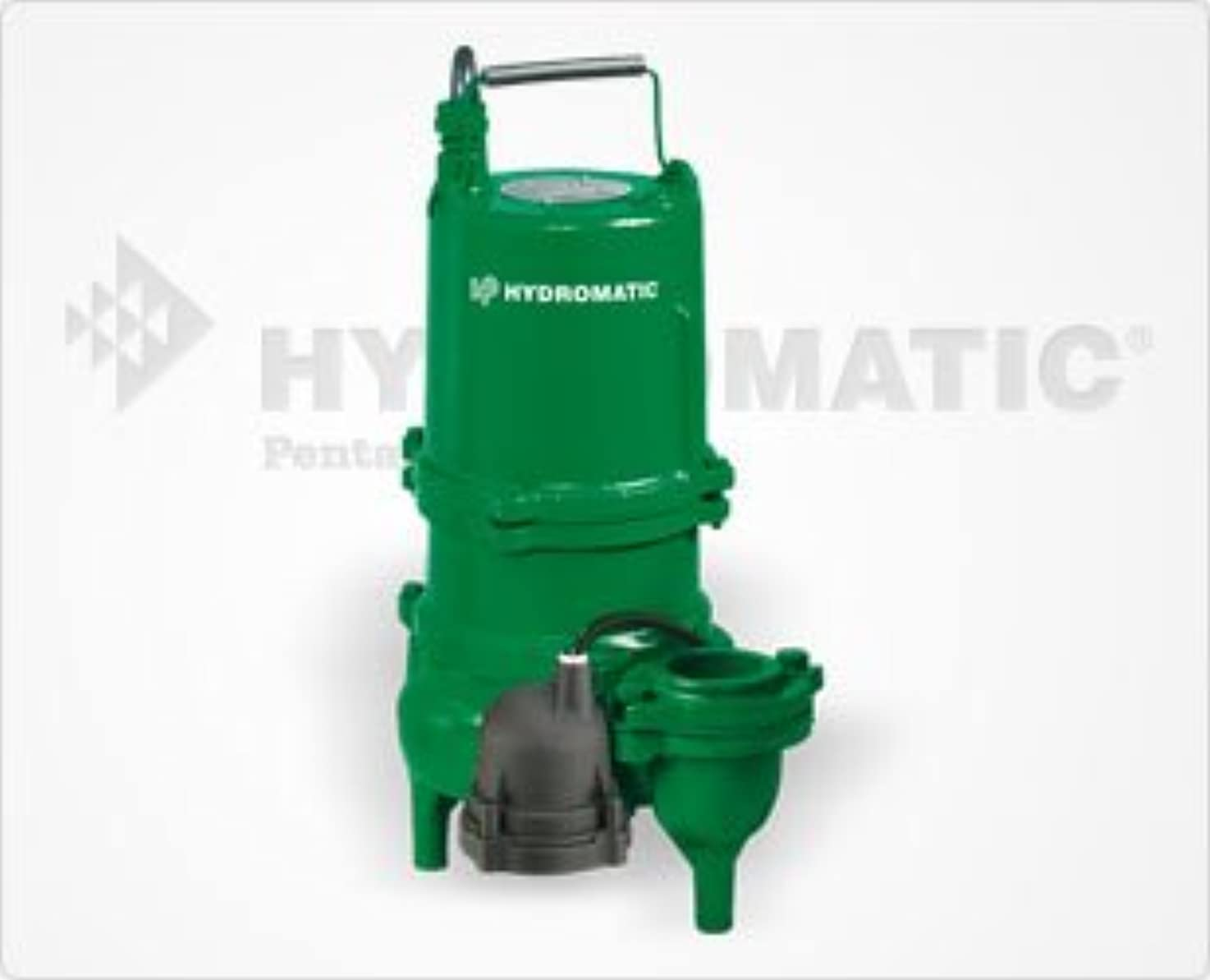 Hydromatic SK60M4 Submersible Sewage Ejector Pump (Manual), 3-Phase, 460-Volt, 20' Power Cord