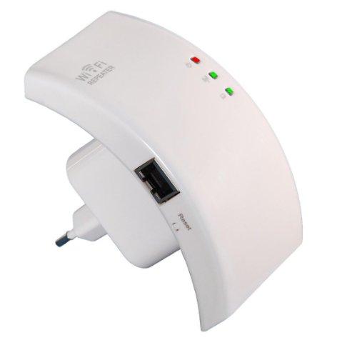 CM3 WiFi Repeater Access Point 300/150/54 Mbit (WLAN Wireless Verstärker und LAN Anschluss)