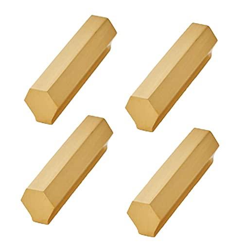 Perilla de armario, manija de cajón, 4 piezas, perilla de puerta de armario para puertas de armario, puertas de armario y decoración del hogar, manija resistente, cómoda y duradera, no se oxida fácil