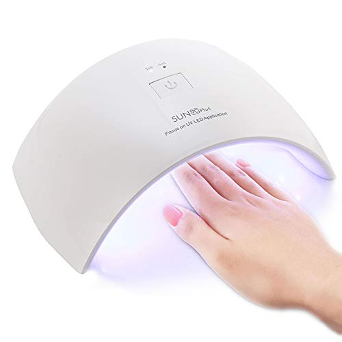 Lámpara de Uñas UV 36W, CompraFun Lámpara UV y LED Secado