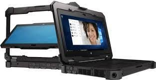 Dell Latitude Rugged 7214 HD 2 in 1 Laptop Notebook Touch Screen Convertible Tablet (Intel Quad Core...