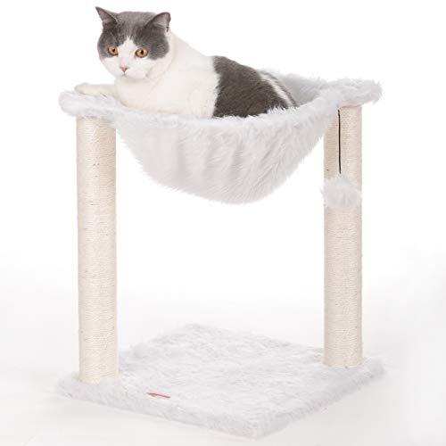 LUCKY MARKET キャットタワー 猫タワー 爪とぎ 天然サイザル麻紐 据え置き 大型猫 子猫 ネコタワー すべて...