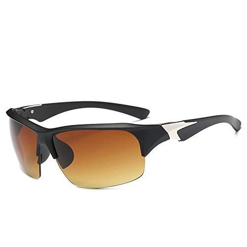 Yi-xir diseño Clasico 2 unids/Lote Nuevas Gafas de Sol Deportivas Fuera de Hombres y Mujeres Montando Gafas de Sol a Prueba de explosiones Moda (Color : 5, UnitCount : 2PCS)
