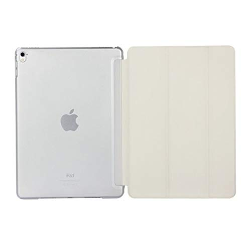 Ipad case Pure Color Merge Horizontal Flip Leather Case for iPad Pro 10.5 Inch/iPad Air (2019), with Holder (Black) Asun (Color : White)