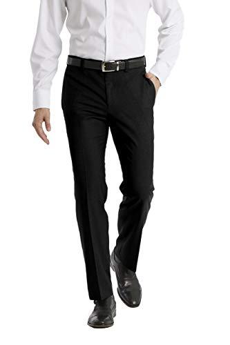 Calvin Klein Men s Modern Fit Dress Pant  Black  33W x 32L