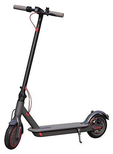 JSZHBC Scooter eléctrico for adultos 350W Motor, 15.5MPH velocidad máxima, 36V 10.4AH batería, ligero y plegable Vespa for adultos y adolescentes, E-scooter con linterna LED, la carga máxima 120KG Saf