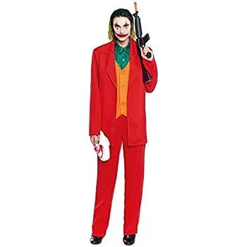 Disfraz Mad Clown Joker Hombre Cine y TV (Talla M) (+ Tallas ...