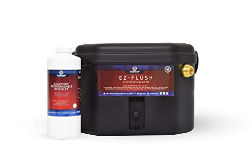 Eccotemp EZ-Flush System Descaler Kit with Pump and Solution, Durable Tankless Water Heater Flushing Kit