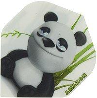STRONG Amazon Comic Flights Kinder Tiere, 6 Stück (Pandabär)