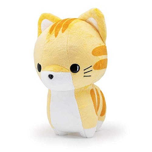 Bellzi Tabby Cat Cute Stuffed Animal Plush Toy - Adorable Soft Orange and White Cat Toy Plushies and Gifts - Perfect Present for Kids, Babies, Toddlers - Tabbi