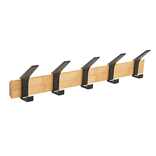 Gymqian Escudo de Altas Prestaciones Ganchos para Montaje en la Pared Puerta de Entrada Hat Rack Ganchos Decorativos de Metal Gancho de Riel Suspendido Del Sostenedor Del Estante pa