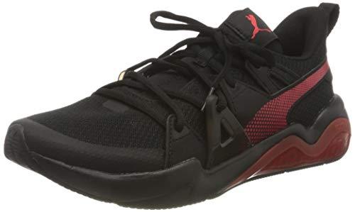 Puma 194361, Zapatillas para Correr de Carretera Hombre, Black High Risk Rojo, 39 EU