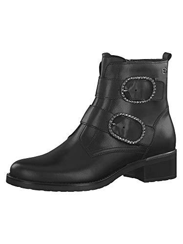 Tamaris 1-1-25047-23, Stivali da Motociclista Donna, Nero (Black 1), 41 EU