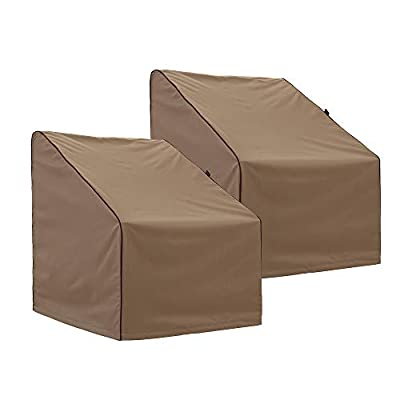 """Finnhomy Outdoor Patio Chair Cover Waterproof Set of 2 Large Patio Furniture Chair Covers Heavy Duty Outdoor Furniture Cover Weather/Fade Resistant, 35"""" L X 30"""" D X 38"""" H"""