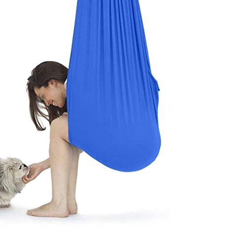 TANGIST Columpio De Terapia De Interior con Capacidad Carga 200Kg para Yoga Integración Sensorial Hamaca Sensorial para Niños o Adultos Terapia de Autismo ADHD Aspergers