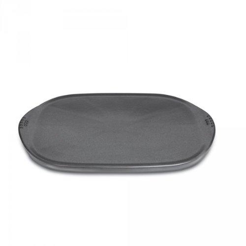 Weber-Stephen 72024 Keramische Grillplatte groß für alle Holzkohlegrills ab 57 cm und für alle Gasgrills ab Q200