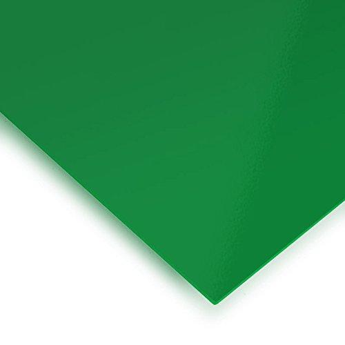 Metacrilato verde transparente - DINA4 x 3 mm