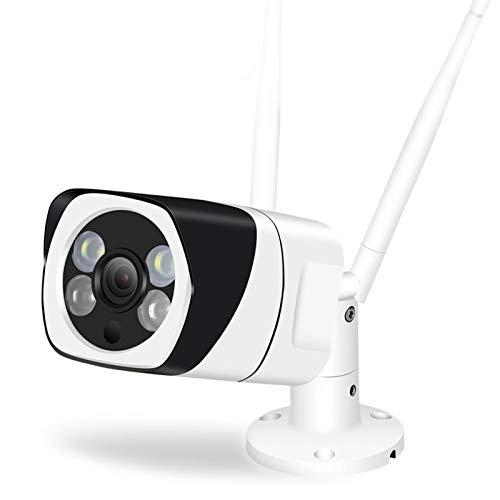Cámara IP inalámbrica 1080p WiFi 2MP Soporte de seguridad de seguridad para el hogar Audio Night Vision Detección de movimiento Metal impermeable IPC cámaras de seguridad sistemas de seguridad para el