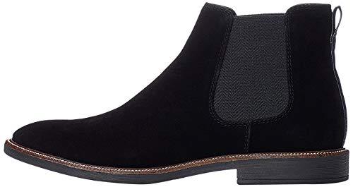 find. Marsh Herren Chelsea Boots Stiefel, Schwarz (Black/Black), 45 EU