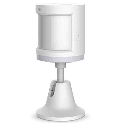 Smart Home para Aqara Human Motion Sensor Dispositivo de Seguridad, Sensor de Movimiento PIR Aqara para el Cuerpo Humano de 360°, Sensor de Movimiento inalámbrico Aqara,para Mijia HomeKit