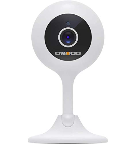 OWSOO 1080P Babyphone mit Kamera, Baby Monitor 2.4G Überwachungskamera Innen Wlan IP Kamera mit Bewegungserkennung, Nachtsicht, 2-Wege Audio