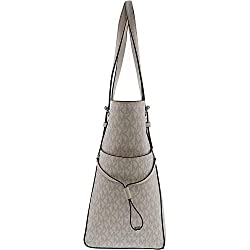MICHAEL Michael Kors Voyager East/West Signature Tote Bright White One Size