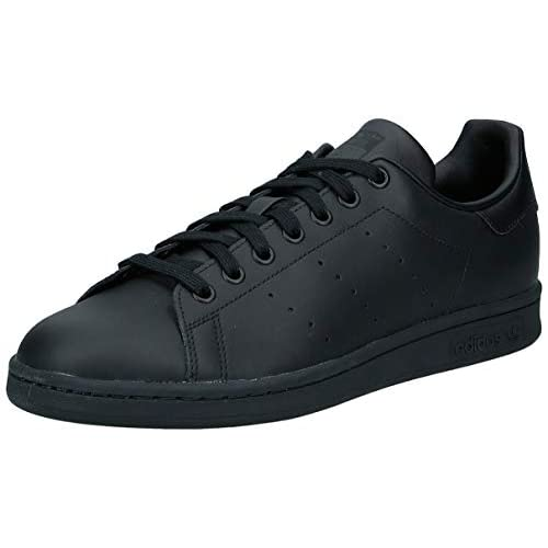 adidas Originals Stan Smith, Sneakers Unisex - Adulto, Nero (Black), 42 2/3 EU