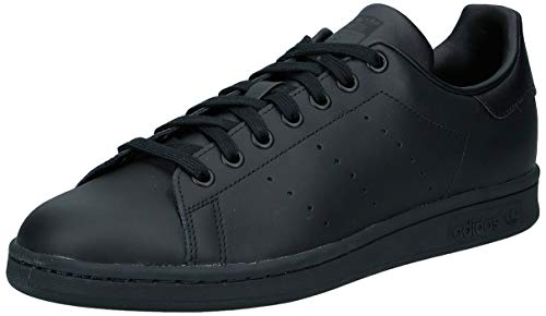 adidas Originals Stan Smith, Zapatillas de Deporte Unisex Adulto, Negro (Black/Black/Black), 42 2/3 EU ✅
