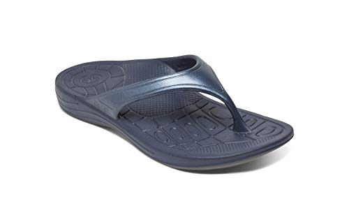 Aetrex Women's Water-friendly Fiji Flip Arch Support Sandal