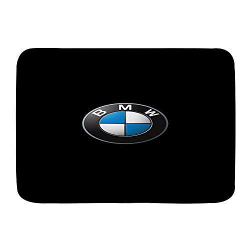 "cwling00 Bath Mat,B-M-W M Sports Car Series Power Logo (2)~1,Plush Bathroom Decor Mat with Non Slip Backing, 29.5"" X 17.5"""