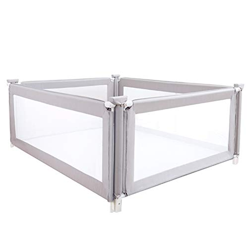 Buy Bargain WHAIYAO-Bed rails Bed Guard 4 Face Crib Baffle Foldable Baby Drop Resistance, 2 Colors, ...