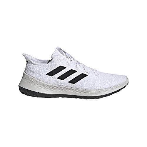 adidas Sensebounce+ Zapatos Mujer, Blanco (Blanco nube/Core negro/perla de tiza.), 39 EU
