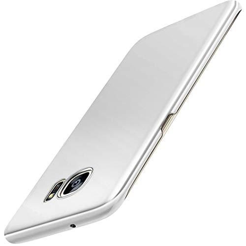 Jacyren Hülle für Samsung Galaxy S7, Galaxy S7 Edge Handyhülle Ultra Dünn Matt PC Schutzhülle Anti-Fingerabdruck Anti-Scratch Schutz Tasche Schale Hülle für Galaxy S7 Edge (Galaxy S7, Silber)