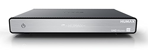 HUMAX Digital UHD 4tune+ Quad Tuner (6 Mon. HD Plus, PVR Ready, WLAN, Bluetooth, CI+, IP Server, UPnP Server, Wechselfestplatte)