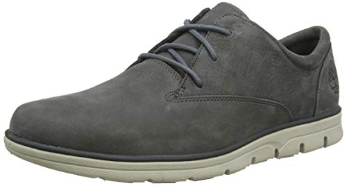 Timberland Bradstreet PT Oxford, Zapatillas Bajas para Hombre, Gris (Medium Grey Nubuck), 41 EU