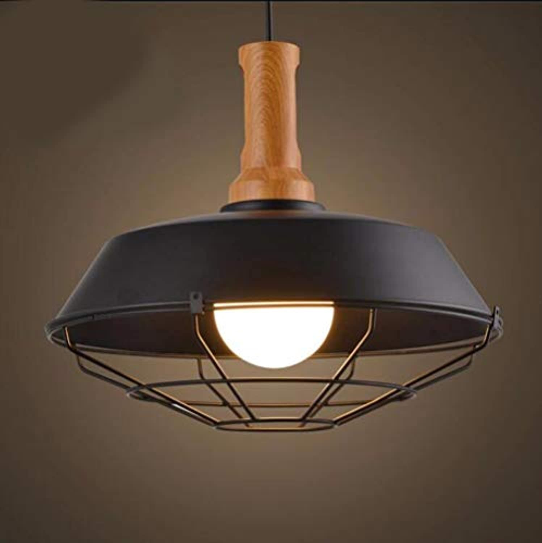 Zhang Ying ZY  Pendelleuchte Kronleuchter Restaurant Licht Deckel Einfache Wohnzimmer Schlafzimmer Loft Schwarz 26 cm