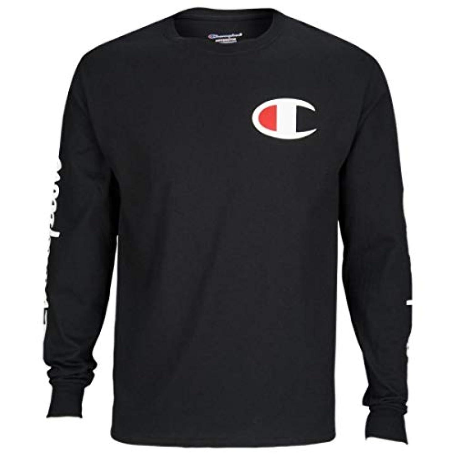 第四前者寝室(チャンピオン) Champion メンズ トップス 長袖Tシャツ Graphic Long Sleeve T-Shirt [並行輸入品]