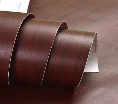 jidan Verdickter wasserdichte Holzmaserung Aufkleber Selbstklebende Tapete Kleiderschrank Schrank alte Zimmertür Schreibtisch Möbel Renovierung (Color : 2, Dimensions : 60 cm x 5m)