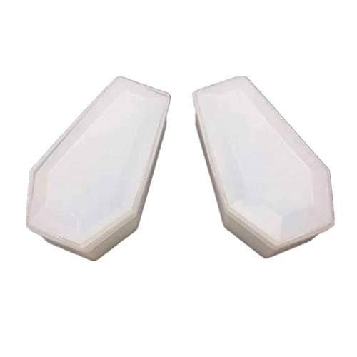 ER-NMBGH 1pcs Moldea DIY Cristal Epoxi Caja De