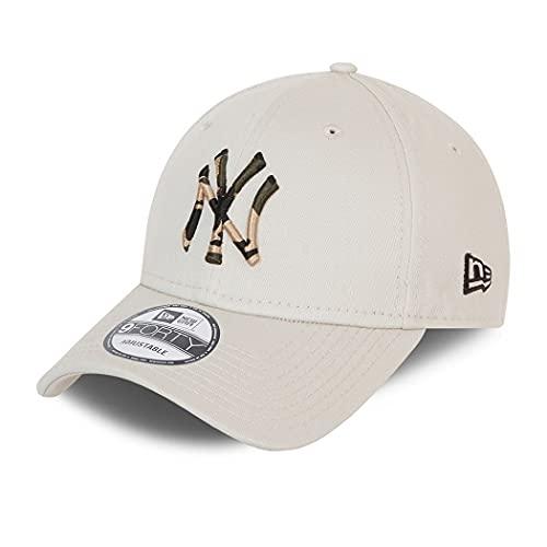 New Era New York Yankees MLB Cap 9Forty Basecap verstellbar Kappe Baseball Camouflage Infill beige - One-Size