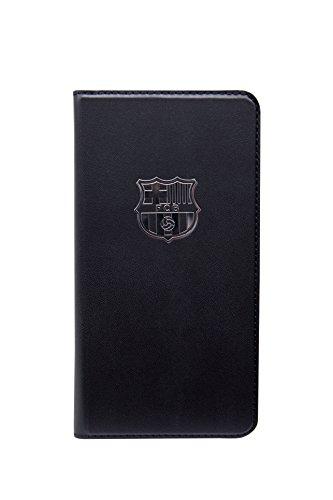 FC Barcelona BRFM063 - Funda tipo folio con función soporte para Apple iPhone 6 Plus, negro