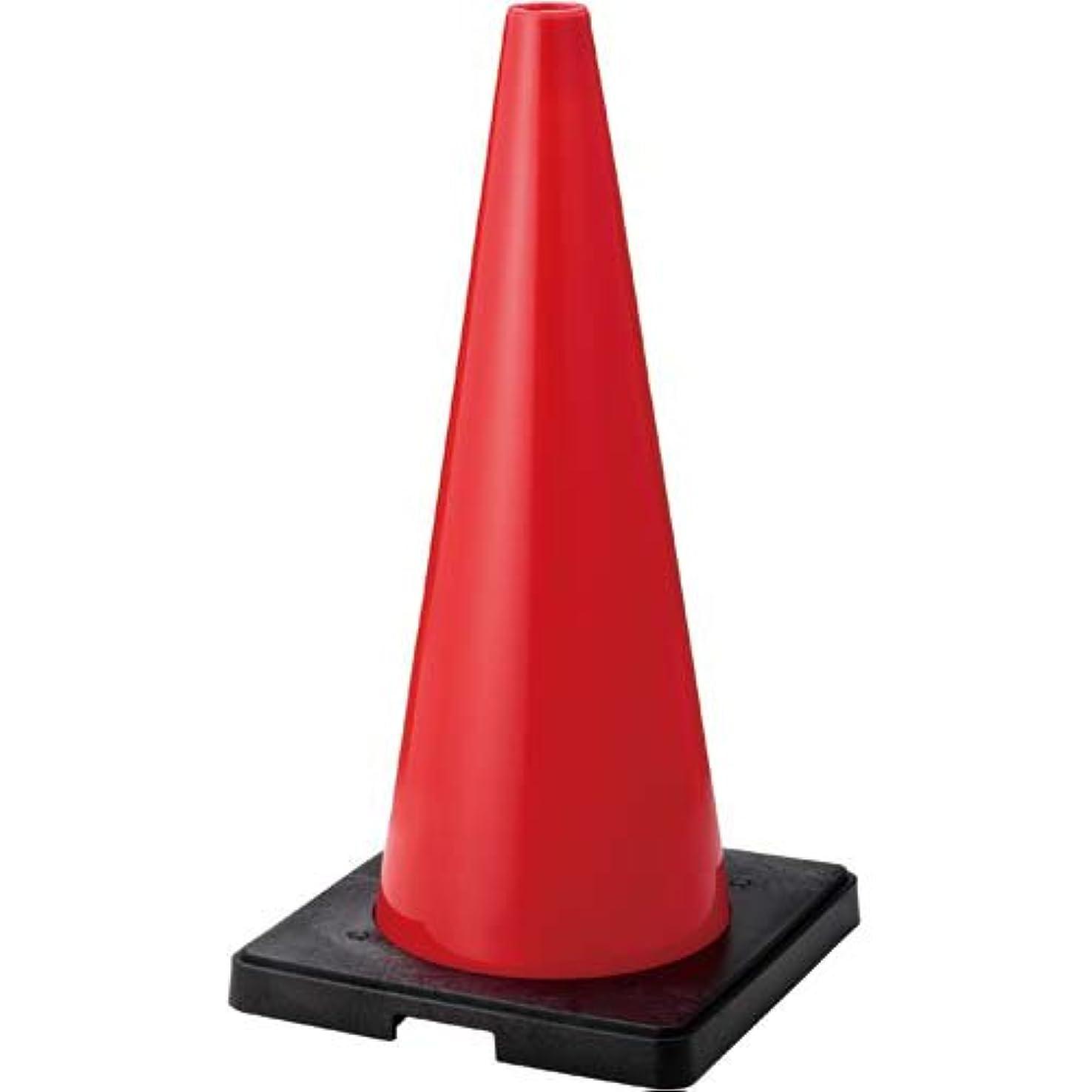 WING ACE 樹脂製コーンベット付三角コーン 赤