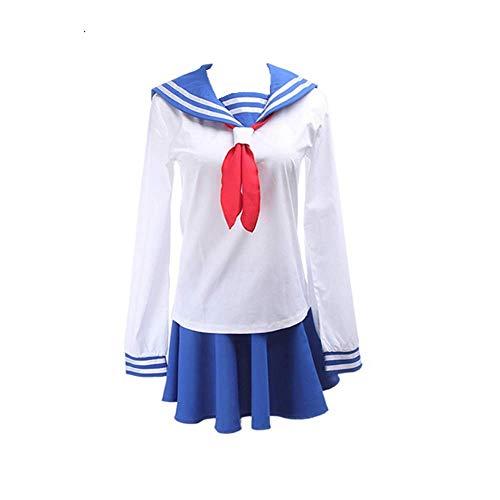 Charous Cosplay Kost¨¹m Anime Mob Psycho 100 Japanische JK M?dchen Schuluniform Matrosenanz¨¹ge Cosplay Party Halloween Kost¨¹m f¨¹r Frauen?