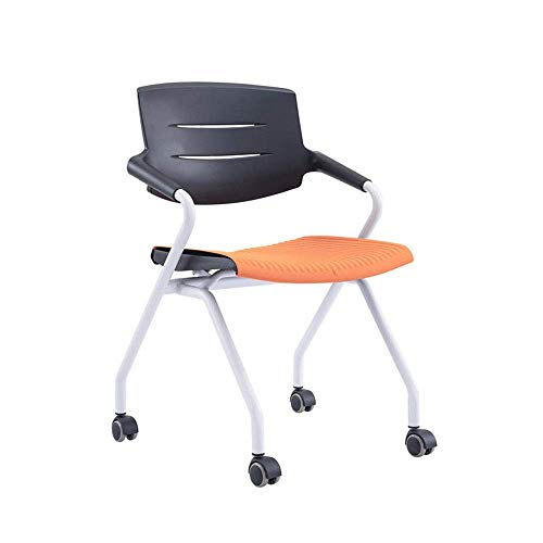 WSDSX Training Chair Computer Chair Training Chair with Writing Board Retractable Multi-Foldable Function Conference Chair High-Back