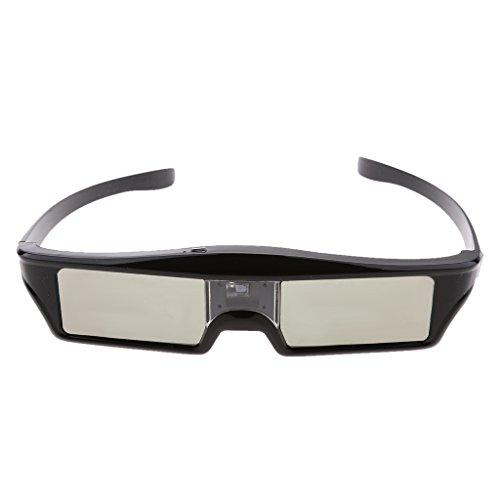 Gazechimp Gafas 3D 144hz DLP Link Bluetooth Accesorios para Proyector Optoma/BenQ TV Ordenador Portàtil Compatibilidad Universal