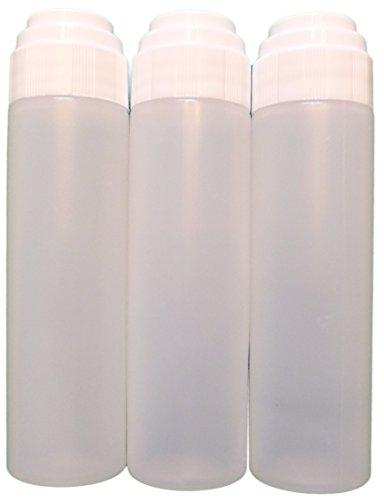 Empty Bottles with applicators - 1 oz - Mohair Dauber - 6 Pack