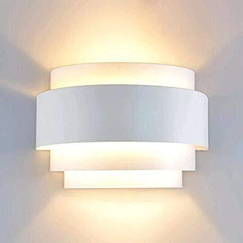 Moderne Led Wandleuchte Wandleuchte Auf Und Ab Wandleuchte Mini Nachtlicht Leuchte Für Schlafzimmer Flur Treppe Gartenwand E27 Max 60W-A